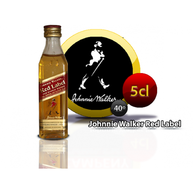 Whisky Johnnie Walker 5 cl Inicio