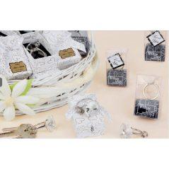 Llavero Anillo Dimante Cristal Caja Corazones Inicio2,32 €