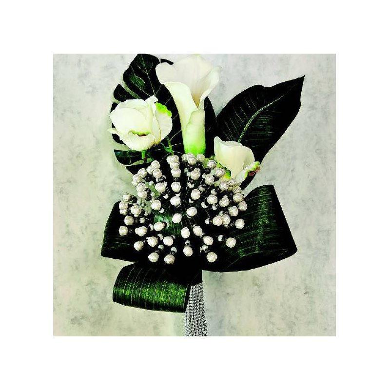 Vara de Rosas y Calas Blancas para Novias Inicio21,86 €