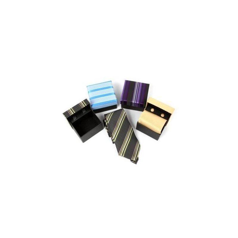 Corbatas Surtidas Con Gemelos a Juego Detalles de Boda Baratos