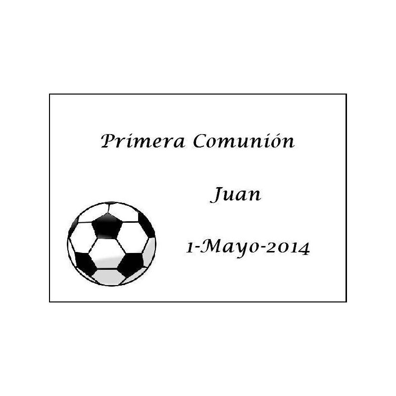Tarjeta Fútbol Inicio