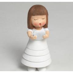 Figura Pastel Comunión Niña Cabello Liso Inicio3,83 €