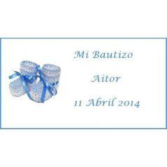 Tarjeta Patuco Azul