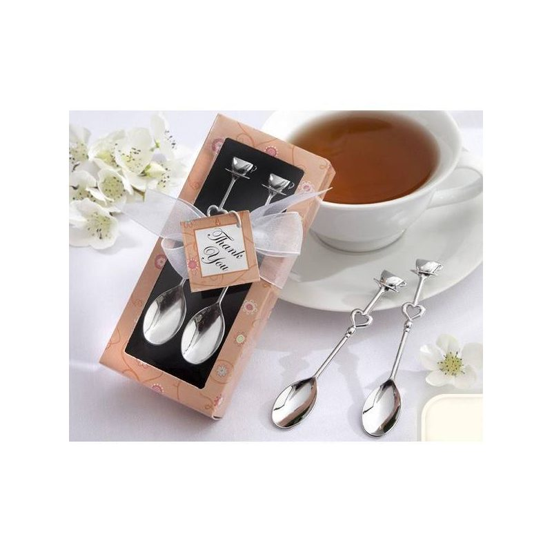 Set cucharas de caf detalles de boda for Cuchara de cafe