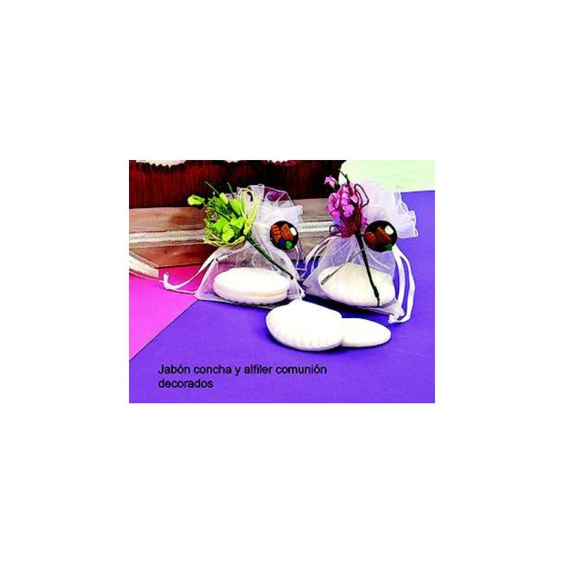 Jabón Concha con Alfiler Comunión Decorado Inicio1,42 €