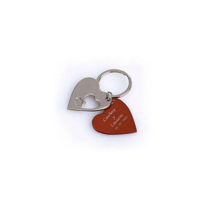 Llavero Corazón Doble Inicio1,50 €