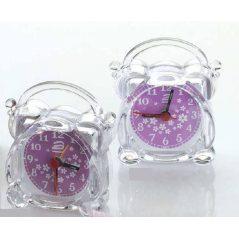 Reloj Despertador Transparente