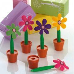Bolígrafo Flor en Maceta