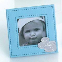 Portafotos Piel Celeste Bebé