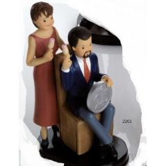 Figura Pastel Bodas de Plata Elegante Inicio12,69 €