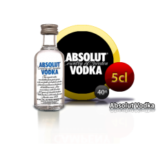 Vodka Absolut 5cl Inicio2,00 €
