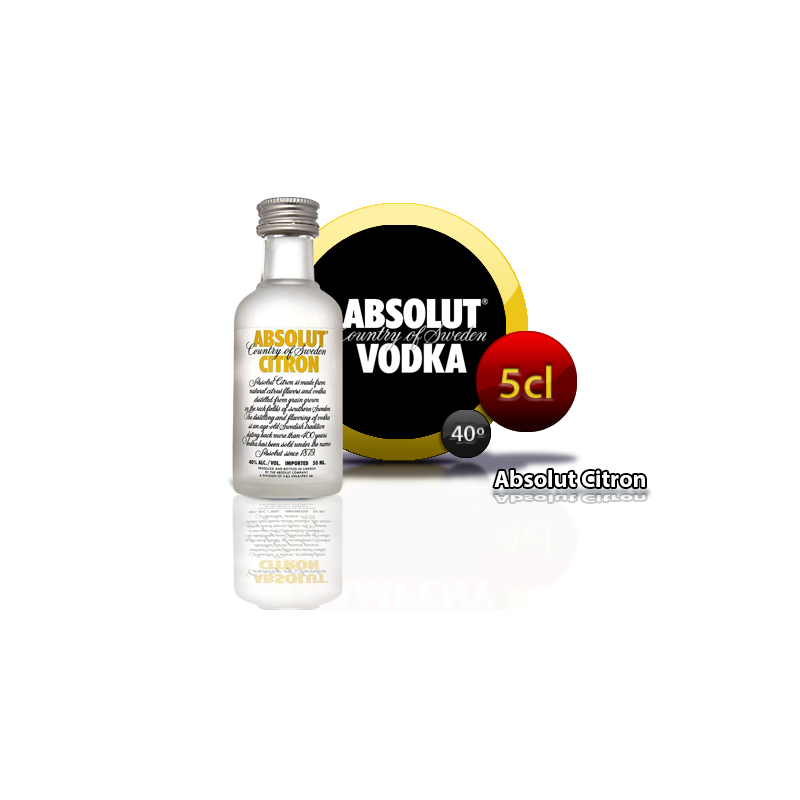 Vodka Absolut Citron 5cl Inicio2,60 €