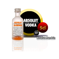 Vodka Absolut Mandrin 5cl
