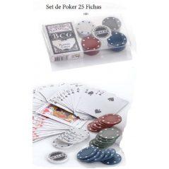 Set de Poker 25 Fichas