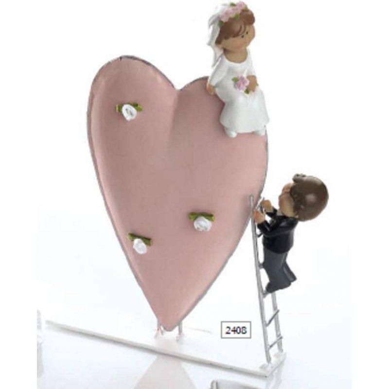 Pareja de Novios Corazón y Escalera Inicio10,90 €