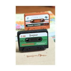 Sello Cassette ScrapBooking