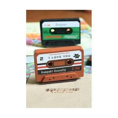 "Sello Cassette ""I Love You"" ScrapBooking Inicio"