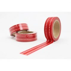 Cinta Adhesiva Washi Tape Roja Inicio