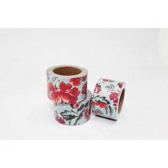 Cinta Adhesiva Washi Tape Flores