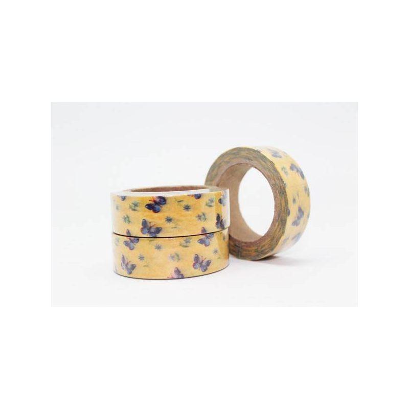 Cinta Adhesiva Washi Tape Mariposas Inicio