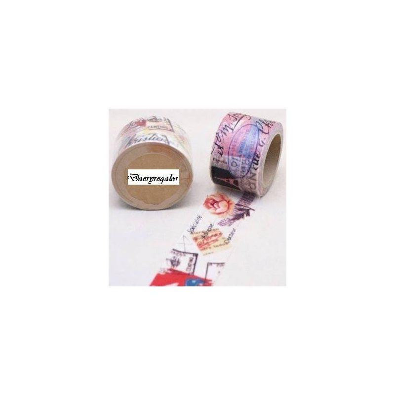 Cinta Adhesiva Washi Tape Vintage Inicio4,60 €