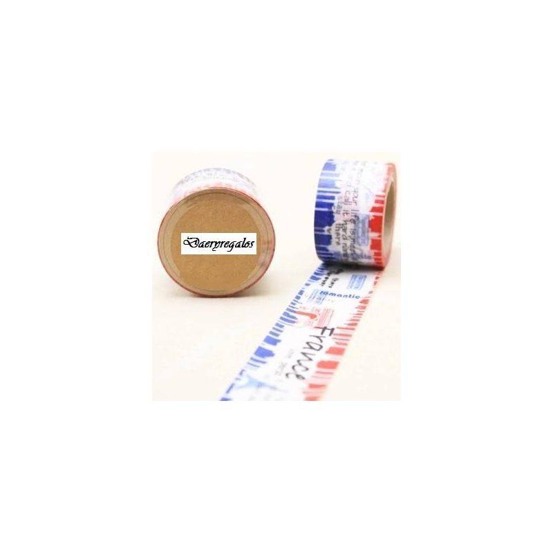 Cinta Adhesiva Washi Tape France Inicio4,60 €