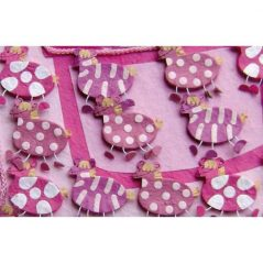 Set de 15 Cajitas Cebras Rosa Inicio