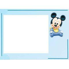 Tarjeta Mickey Baby Niño