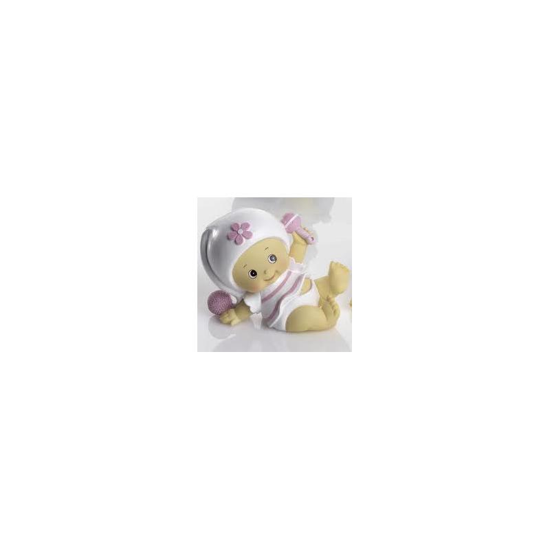 Hucha Bebe Niña Pijama Rosa Figuras para Tartas de Bautizo6,60 €