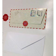 Invitación Carta Correo Aereo Inicio