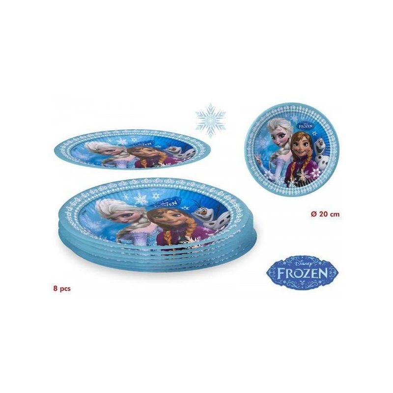 Pack 8 Platos Frozen Inicio