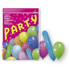 Lote 80 Globos Party Mix Inicio