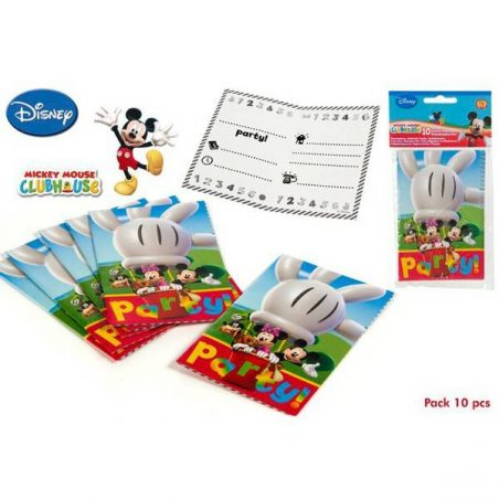 Pack 10 Invitaciones Mickey Mouse Inicio2,63 €