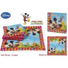Lote 20 Servilletas Mickey