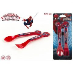 Set de 2 Cubiertos Pvc Spiderman