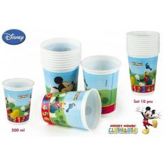Pack 10 Vasos Mickey 200 ml Inicio