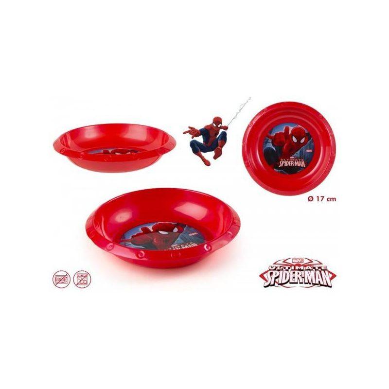 Cuenco Pvc Spiderman Inicio 7021