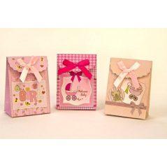 Caja Cartón Bebé Rosa