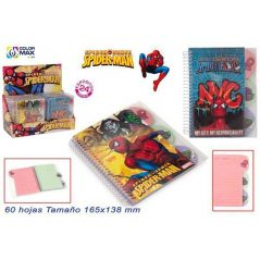 Libreta Spiderman Inicio