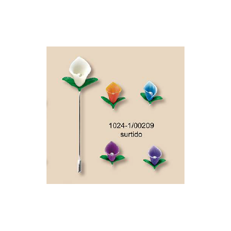 Alfiler Novia Capullo Flor
