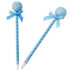 Bolígrafo Azul Chupa Chup Y Lazo