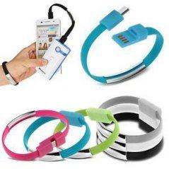 Pulsera Micro USB Datos Para Cargar Teléfonos