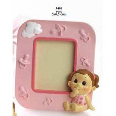Portafotos Bebé Niña Graciosa