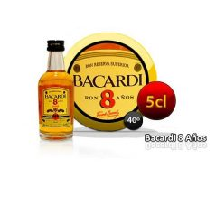 RON BARCARDI 8 AÑOS 5 CL