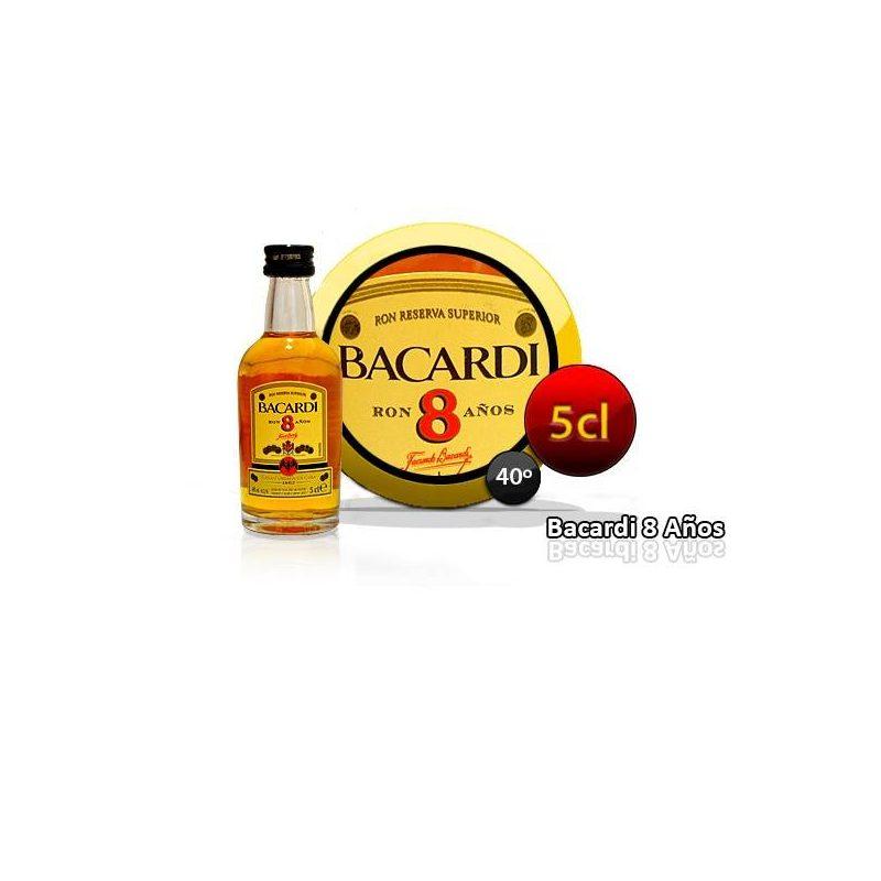 RON BARCARDI 8 AÑOS 5 CL Inicio