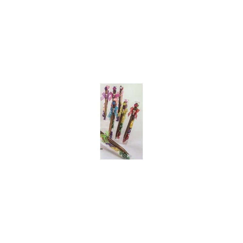 Bolígrafos Mariquitas Con Pin Cáliz Y Caramelos Inicio