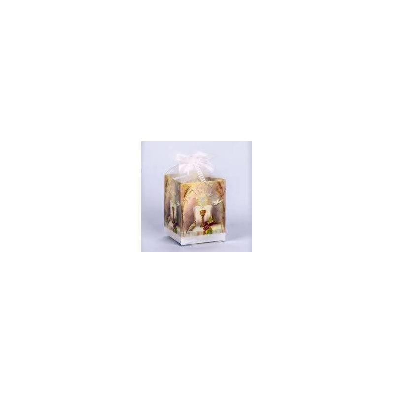 Caja Acetato Cáliz Con Caramelos Inicio