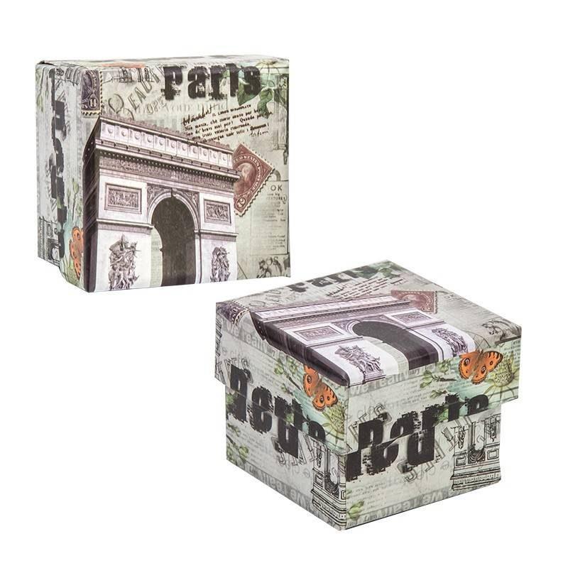 Caja Cuadrada París Inicio0,60 €
