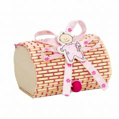 Caja Bambú Niña Rosa Inicio