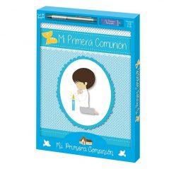 SET COMUNION LIBRO, BOLI, USB NIÑO ORLA